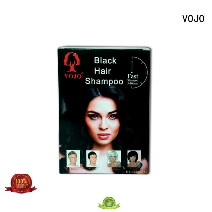 VOJO popular hair colour shampoo company for man