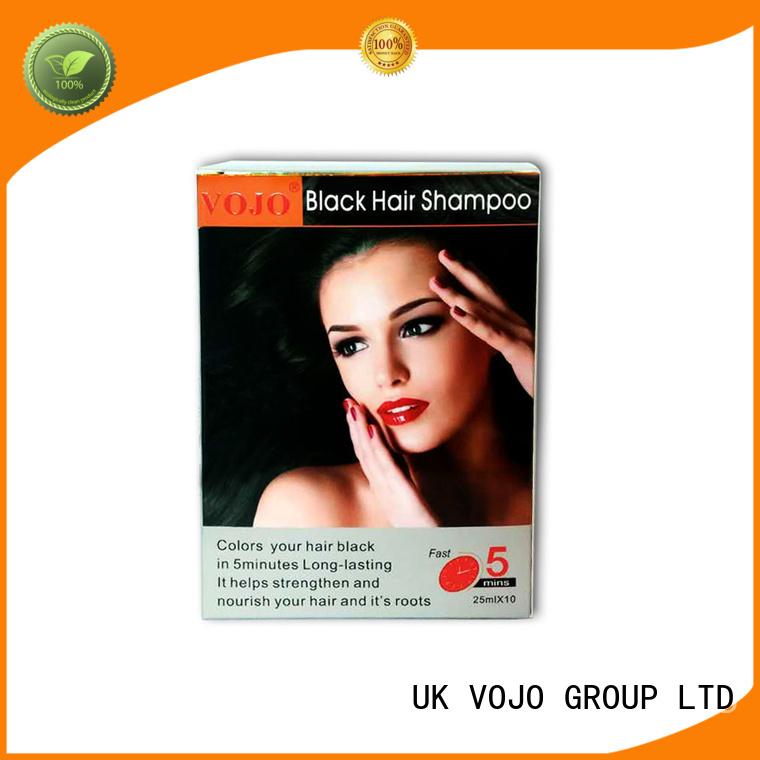 hair colour shampoo lasting for adult VOJO