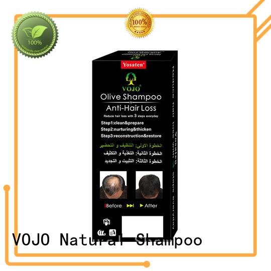 VOJO essence anti hair loss shampoo suppliers for girls