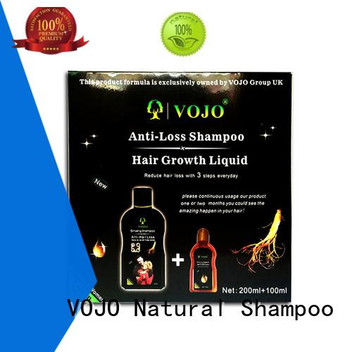 VOJO beard anti hair loss shampoo company for adult