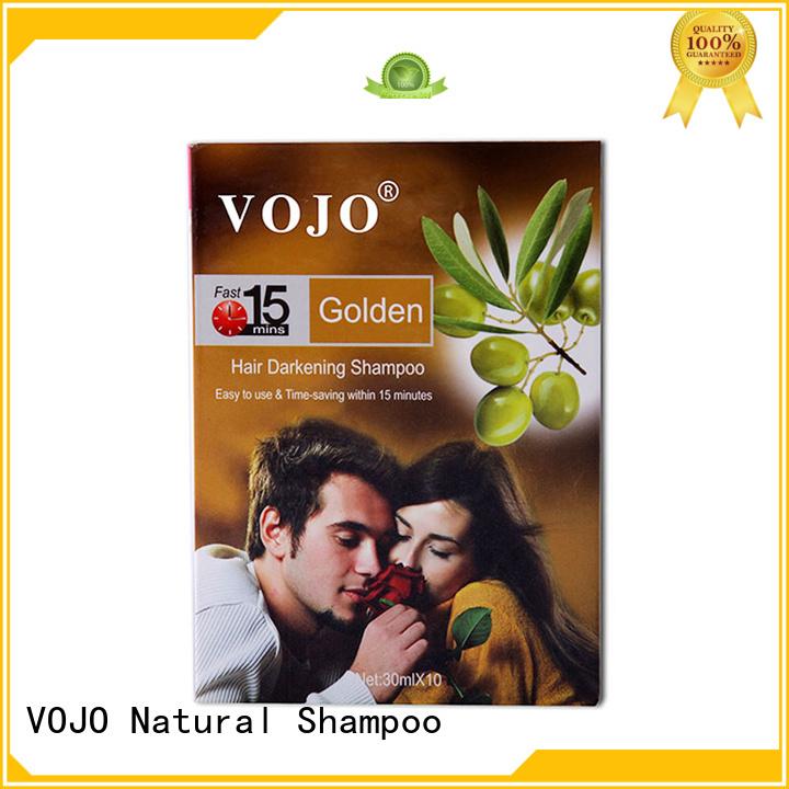 VOJO Wholesale hair colour shampoo supply for woman
