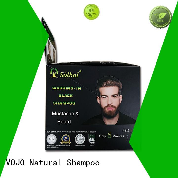 VOJO against beard dye shampoo for business for woman