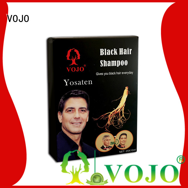 VOJO against beard dye shampoo company for adult