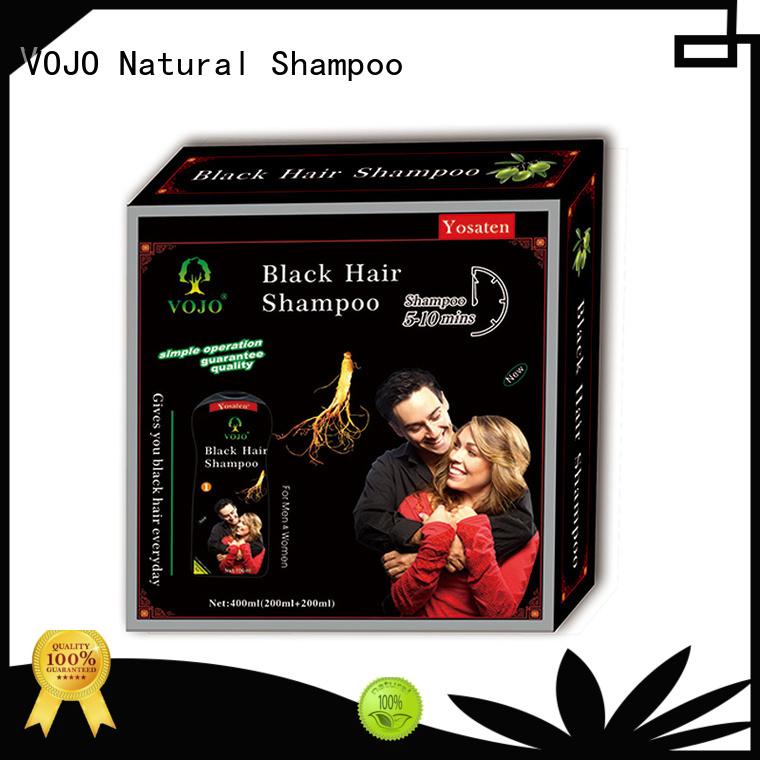 VOJO cover hair dye shampoo supply for girls