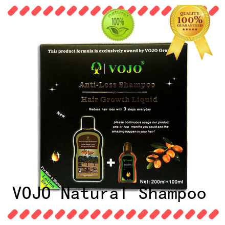 VOJO wholesale natural organic shampoo for hair loss bulk for salon
