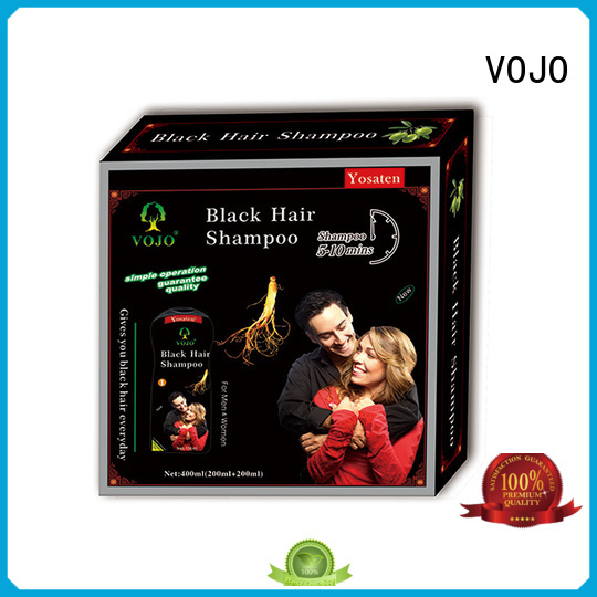 VOJO grey beard dye shampoo supply for man