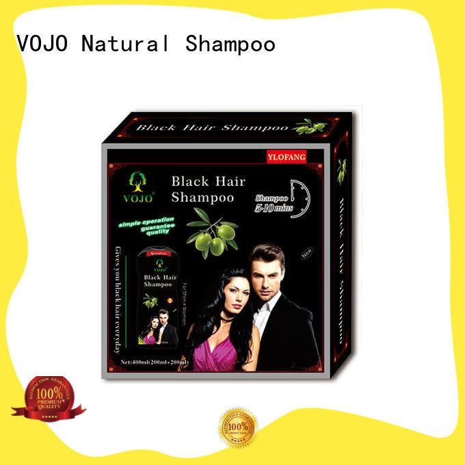 VOJO inexpensive hair colour shampoo hair anti-dandruff for woman