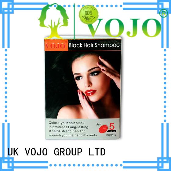 VOJO instant hair colour shampoo supply for salon