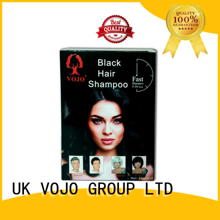 VOJO natural hair dye shampoo suppliers for woman