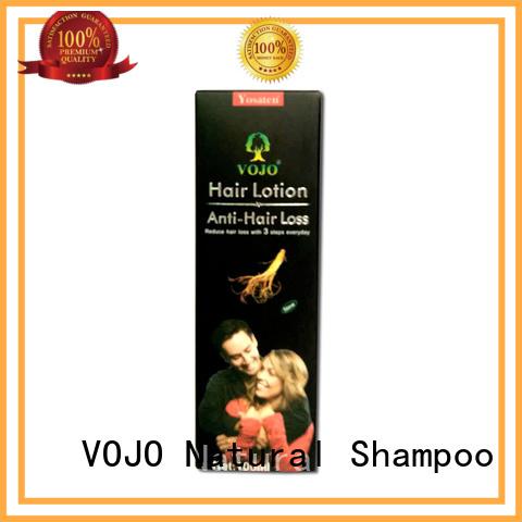 VOJO organic anti hair fall shampoo in bulk for salon