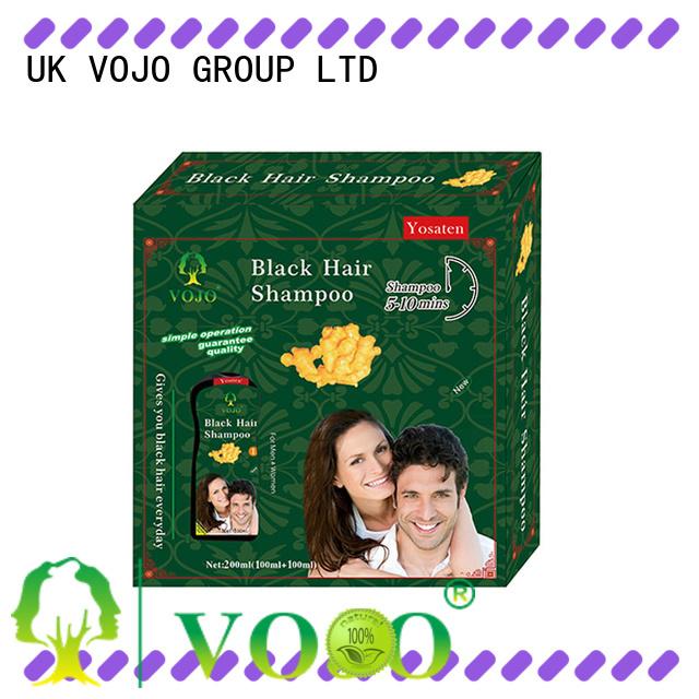 VOJO blackening hair dye shampoo for business for adult