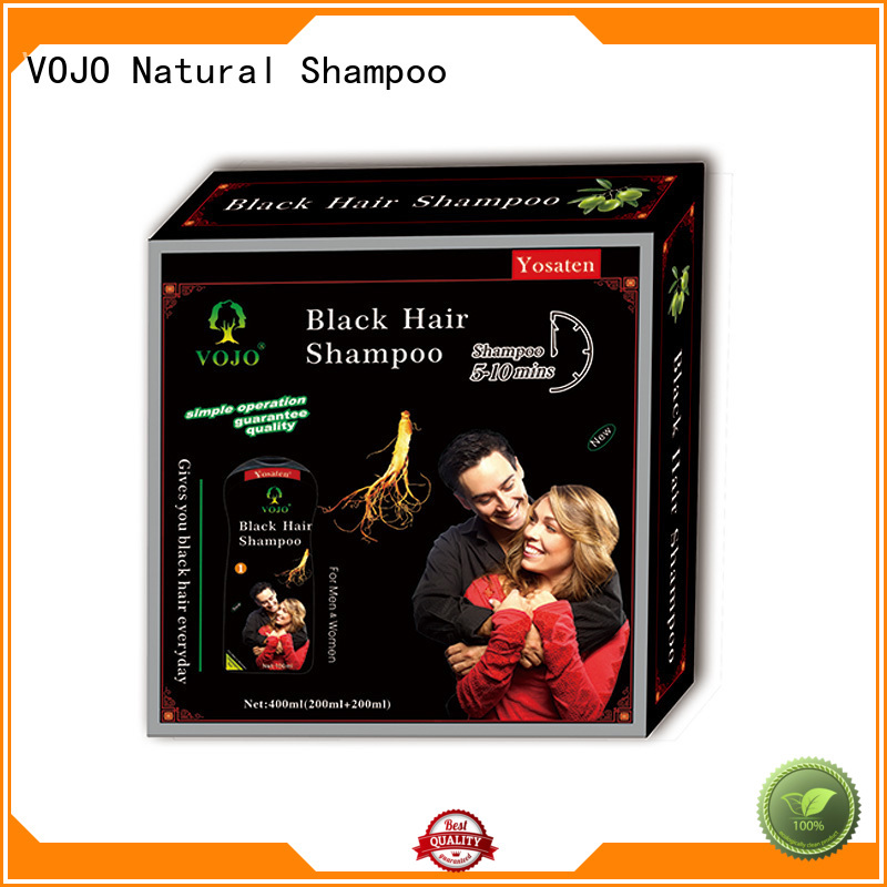 VOJO natural hair colour shampoo manufacturers for man