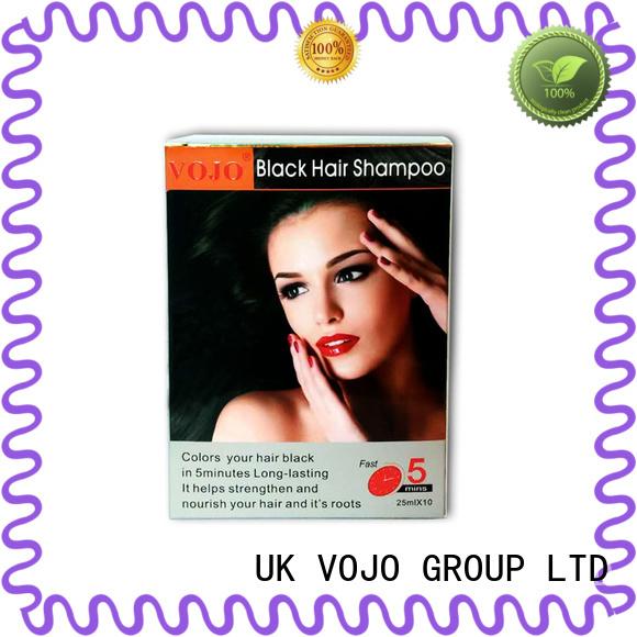 high class hair dye shampoo semi for hair repair for adult