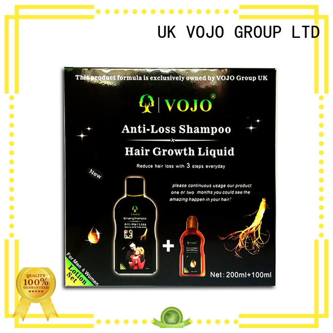 VOJO ginger hair growth shampoo suppliers for man