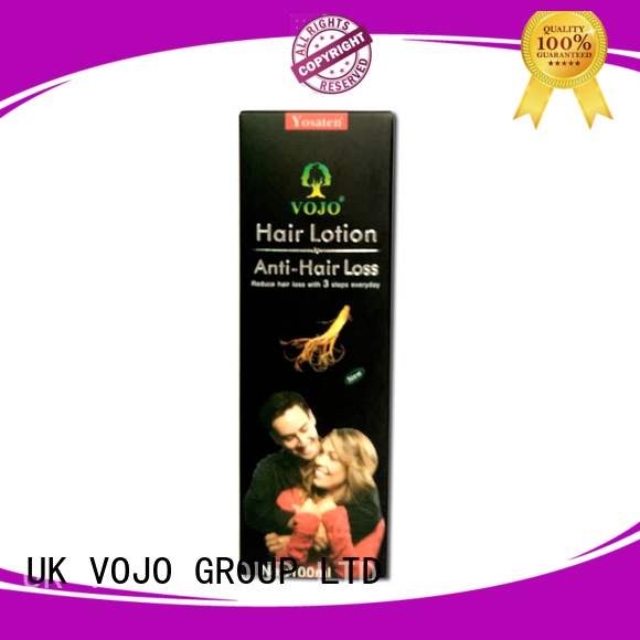 VOJO Latest anti hair loss shampoo factory for man