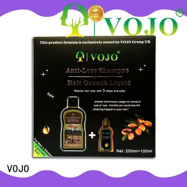 vojo hair loss shampoo factory Wholesale  Anti- Hair Loss Hair Growth Stimulating Shampoo