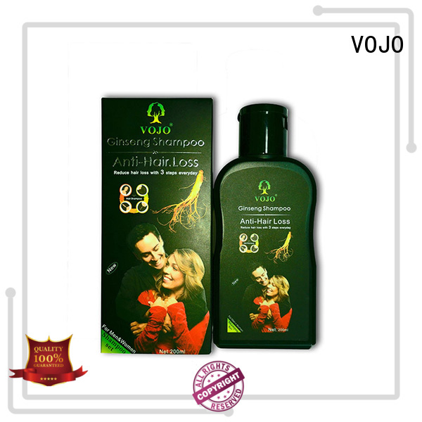 VOJO New anti hair loss shampoo factory for salon