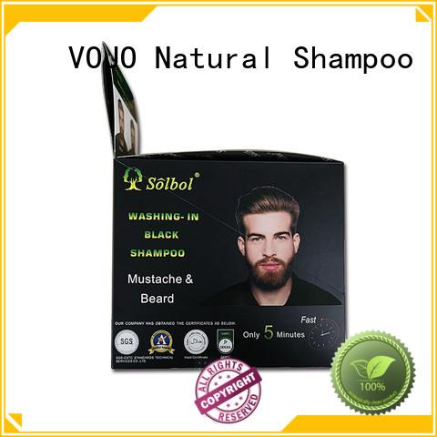 VOJO High-quality beard dye shampoo company for girls