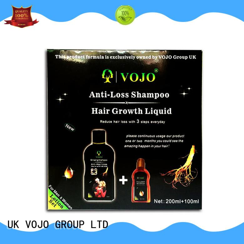 VOJO Top anti hair loss shampoo supply for woman