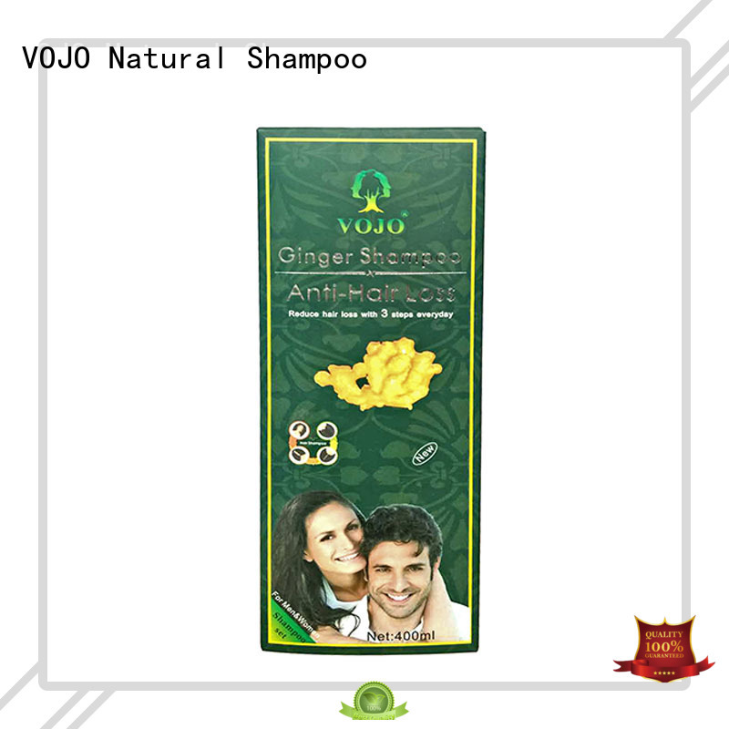 VOJO hot selling natural shampoo for hair fall oil for girls
