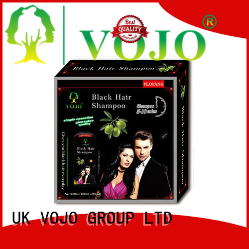 VOJO color hair dye shampoo factory for adult