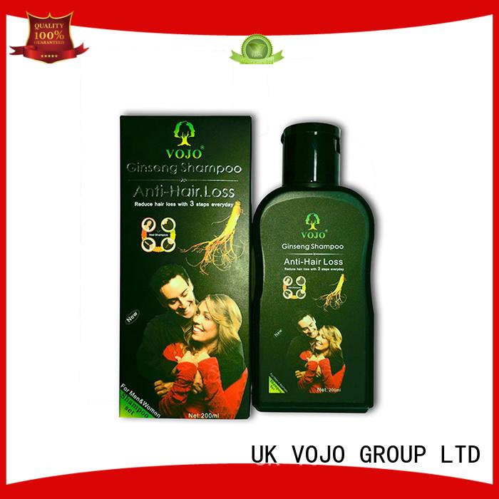 VOJO Custom anti hair loss shampoo Suppliers for salon
