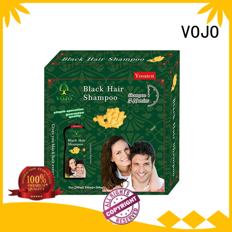 VOJO New hair colour shampoo factory for adult