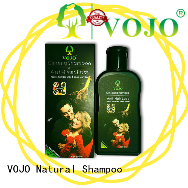 VOJO High-quality anti hair loss shampoo manufacturers for girls