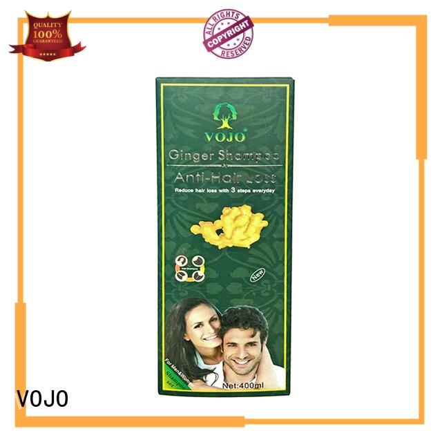 VOJO organic anti hair fall shampoo supply for woman