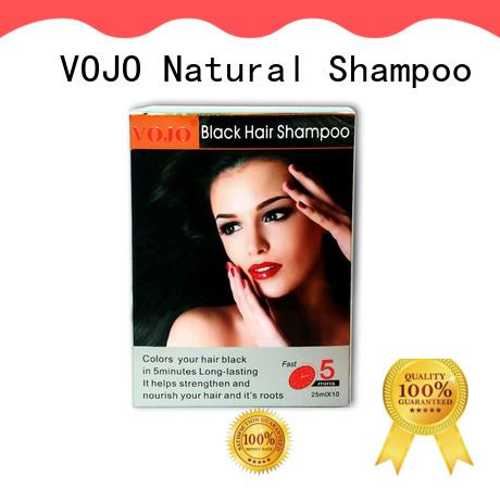 High-quality hair dye shampoo odm supply for adult