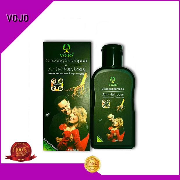 VOJO High-quality anti hair fall shampoo for business for man
