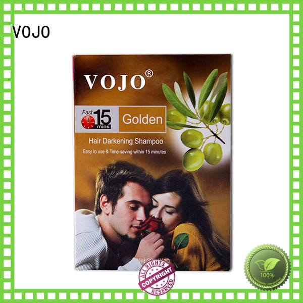 VOJO dyemustacle hair colour shampoo manufacturers for adult