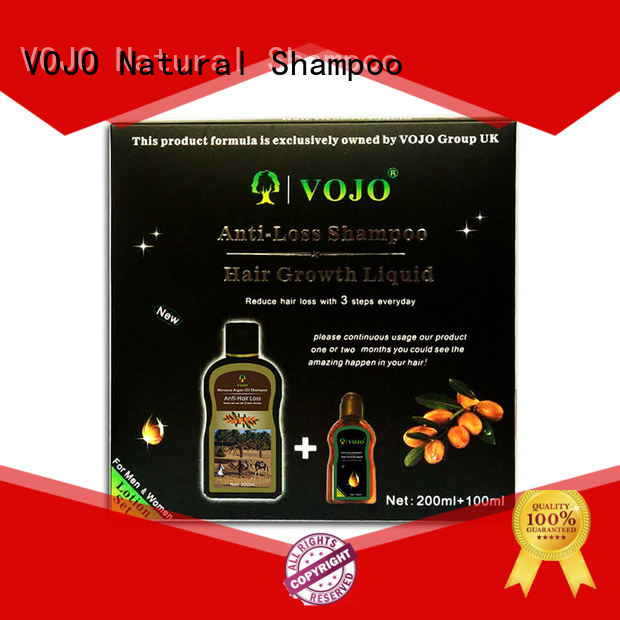 VOJO oil anti hair fall shampoo factory for man