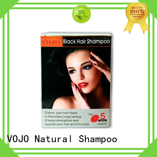 VOJO dye hair dye shampoo manufacturers for girls