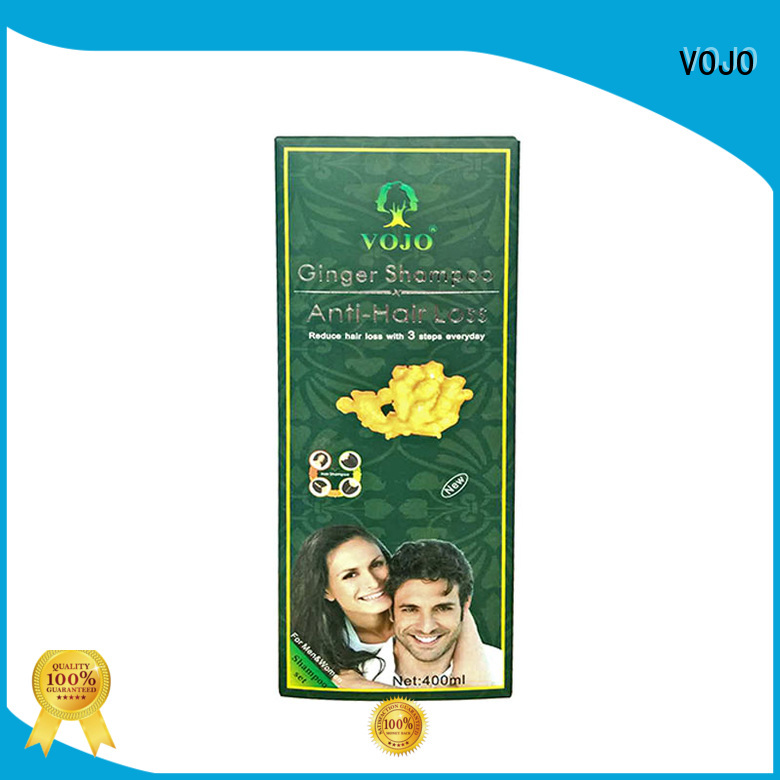 VOJO hot sale ginseng shampoo for hair loss for hair repair for woman