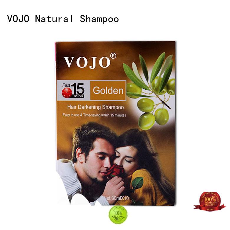 Custom hair dye shampoo hairdye for business for girls