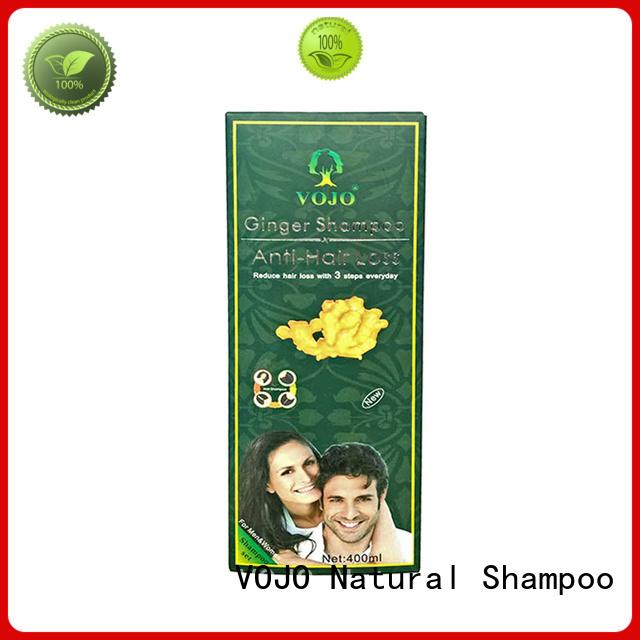 VOJO natural anti hair loss shampoo factory for man