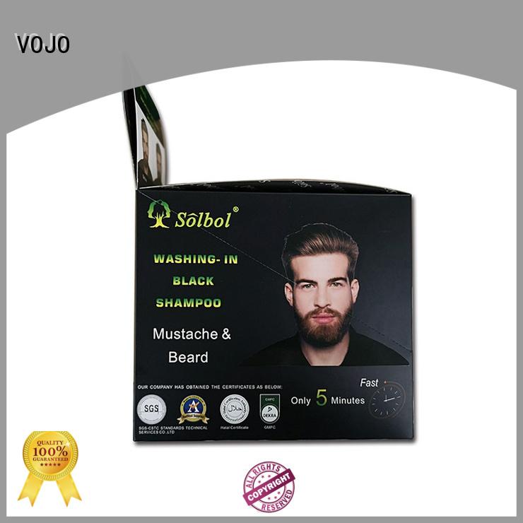 VOJO quality hair colour shampoo fast for man
