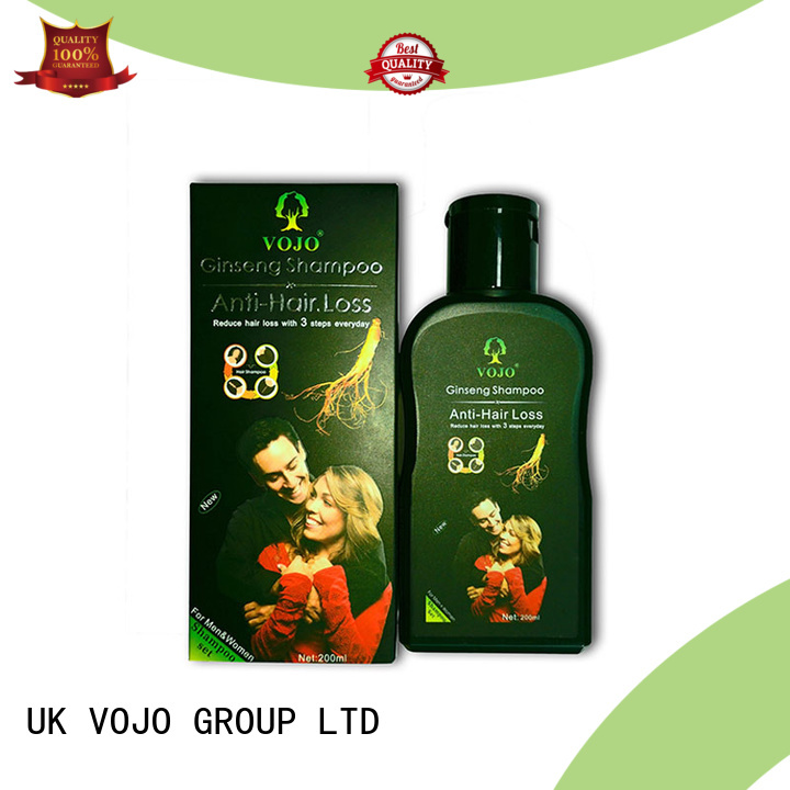 VOJO Wholesale hair growth shampoo for business for salon