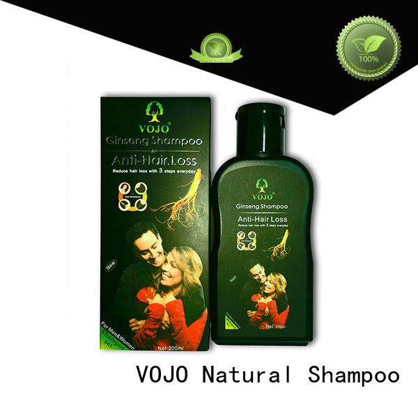 VOJO market anti hair loss shampoo for sale for salon