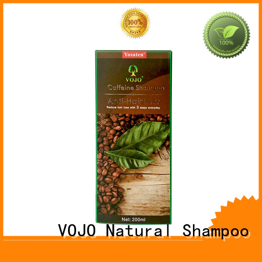 Make Hair Grow faster vojo hair loss shampoo caffeine   Extractive  organic Anti Hair loss shampoo
