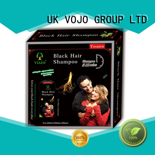 VOJO high quality dye shampoo products against for man
