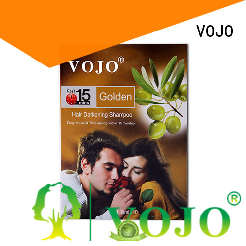 VOJO New hair colour shampoo for business for woman