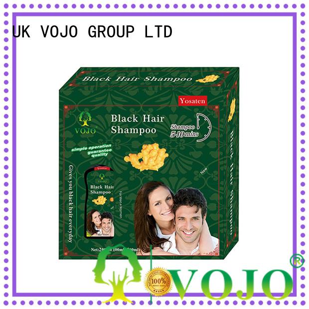 VOJO New hair colour shampoo company for girls