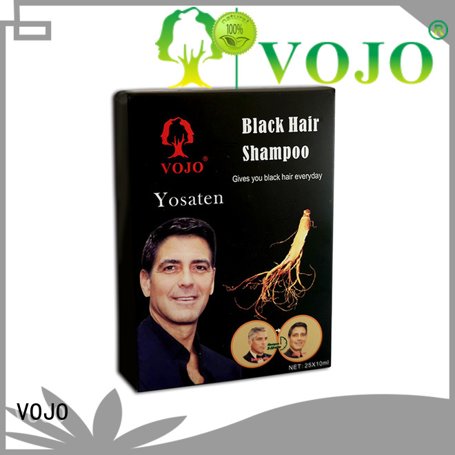 VOJO dyeing hair dye shampoo company for salon