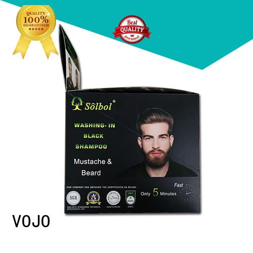 High-quality hair dye shampoo against for sale for man