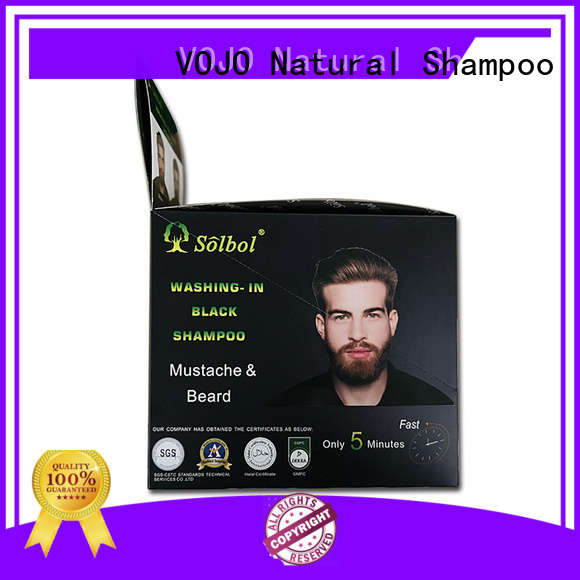 VOJO wholesale herbal hair colour shampoo odm for woman
