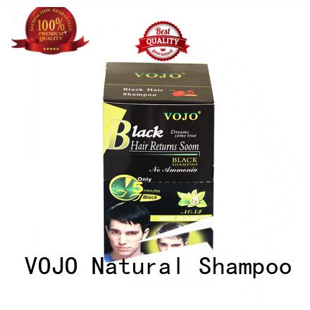 VOJO Custom beard dye shampoo for business for girls