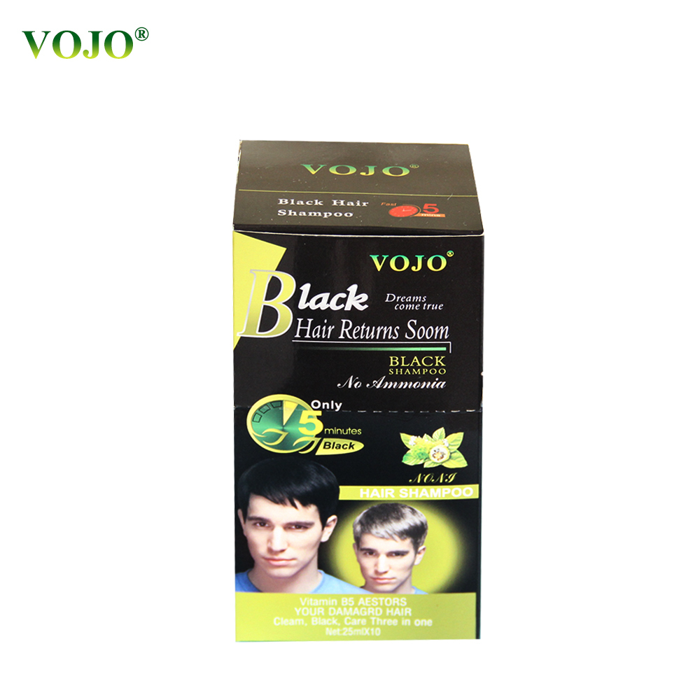 Best Natural Herbal Moroccan Argan New product wholseal black Hair dye ture Hair black just 5 minutes Shampoo