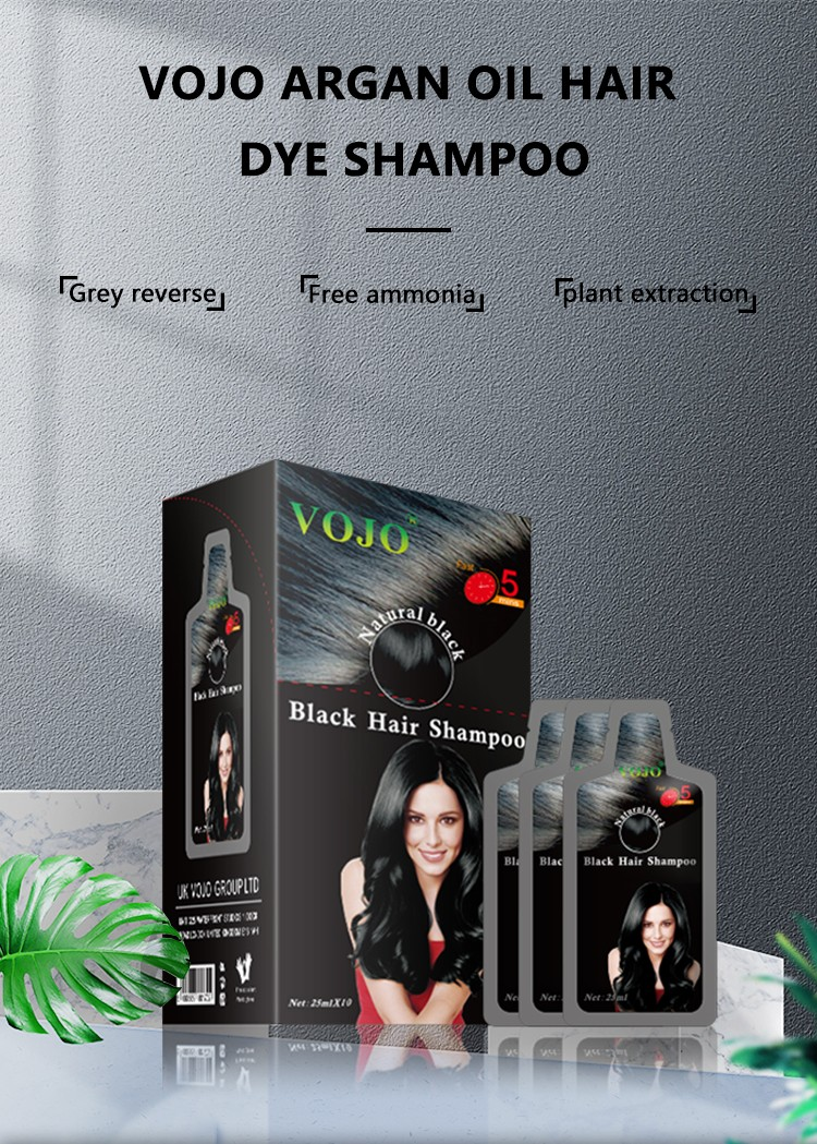 VOJO natural beard dye shampoo factory for woman-1
